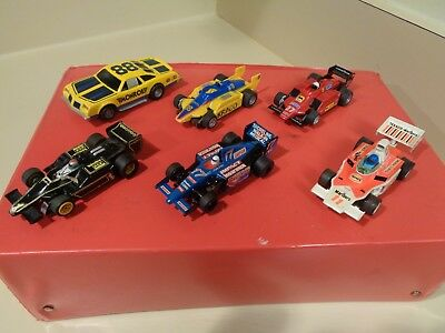 Vintage Lot Of Afx-Tomy-Aurora & G-Plus Slot Cars