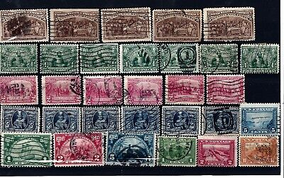 B31 USA stamps classic collection duplication consignment lot 1890s columbus