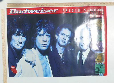 Rolling Stones 1994 Voodoo Lounge US Tour Poster
