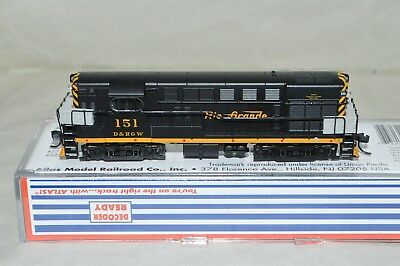 N scale Atlas Denver Rio Grande Western RR FM H16-44 locomotive train DCC READY