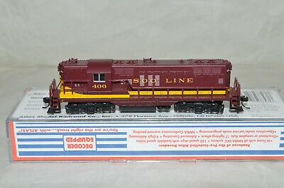 N scale Atlas SOO Line RR EMD GP9 locomotive train DCC EQUIPPED