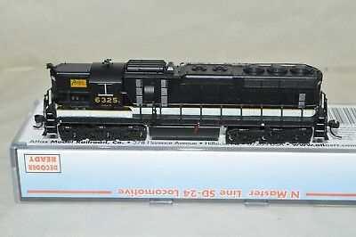 N scale Atlas Precision National ex Southern EMD SD24 locomotive train DCC READY