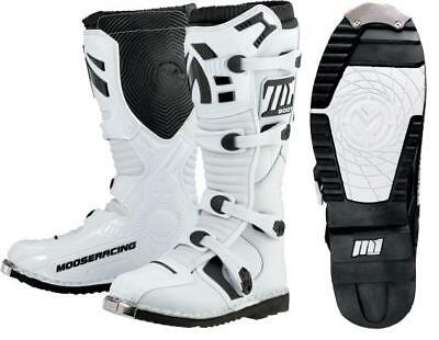 Moose Racing Youth Boys M1.2 MX Boots White 2 US