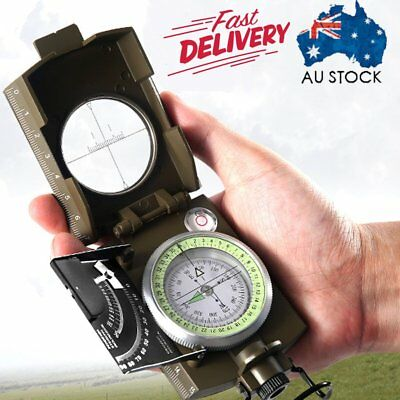 Professional Military Army Sighting Luminous Compass with Inclinometer Travel WE