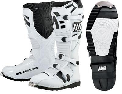 Moose Racing M1.2 MX Boots White 8 US