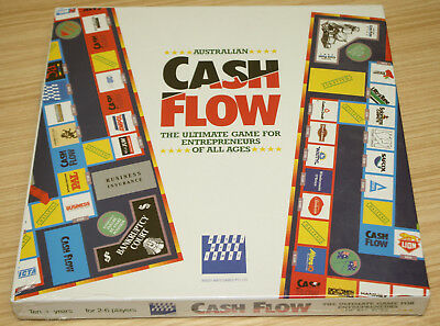 Australian Cash Flow Board Game - Windy Ways 1987 - New & Sealed