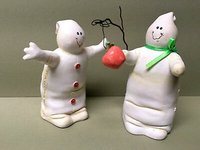Pr Of Midwest Of Cannon Falls GHOST FIGURES By Sandi Gore Evans-So Cute!
