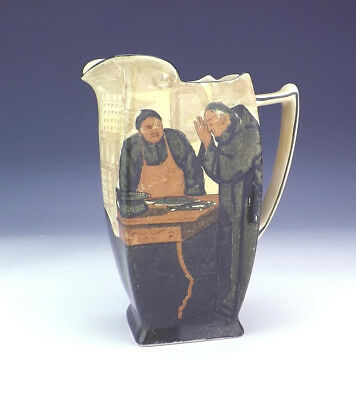 Royal Doulton Series Ware - Monk Decorated Jug - Slight Damage But Lovely!