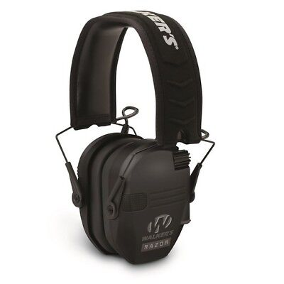 Walkers GWP-RSEM Razor Slim Range Electronic Earmuffs Hearing Protection Range