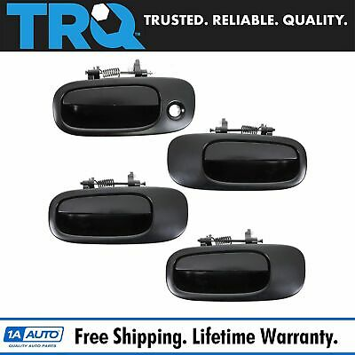 New Smooth Black Outside Exterior Door Handle RH REAR FOR 2006-10 HONDA CIVIC