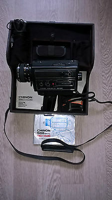 camera super 8 vintage CHINON 506 SMXL direct sound