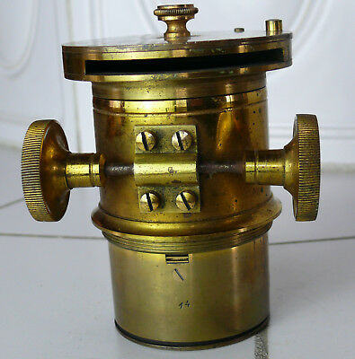 Messing Objektiv brass lens (N2060)