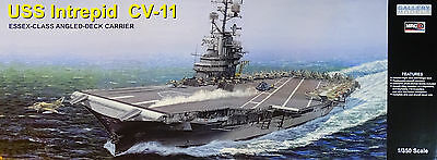 MRC™ 64008 USS Intrepid CV-11 Essex-Class Angled-Deck Carrier in 1:350
