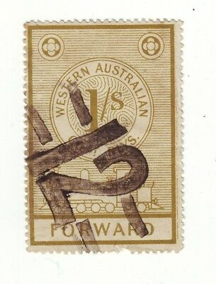 1905 = 112 Years  Old  Western Australia 1 Shilling Parcel Post R1