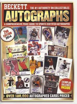 Beckett Sports Certified Autographs Reference w Pricing Baseball, Basketball Etc