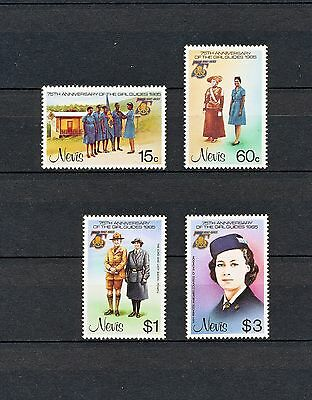 ALAD 033 NEVIS Girl Scouts & Girl Guides 1985 MNH