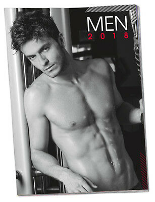 Sexy Men Pin-Up Real Sexy Men Men Boys Calendar Act 2018 New