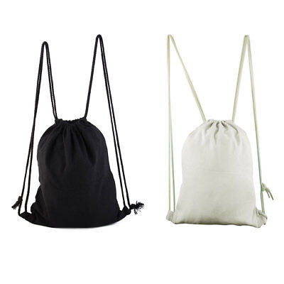 Hiking Travel Cosmetics Storage Pouch School Sport Tote Bag Drawstring Backpack