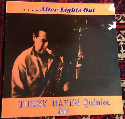 TUBBY HAYES QUINTET after lights out 1980s UK JASMINE RE VINYL MONO LP