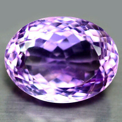 16.76 Ct Aaa! Natural! Purple Clr Change To Pink Brazilian Amethyst Oval