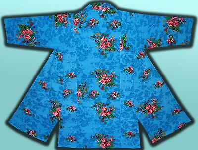 Vintage Traditional Bright Uzbek Natural Cotton Robe Chapan T303