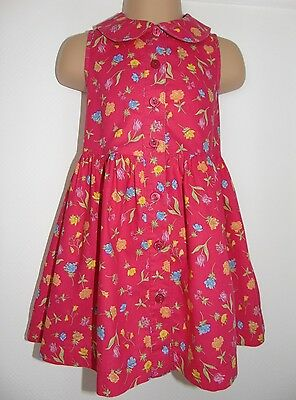 Laura Ashley vintage mother & child label cotton sleeveless dress, 12 months