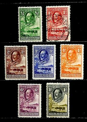 Bechuanaland, British: 1932 Classic Stamp Collection Unused #105-11 Cv $22.40