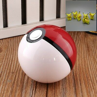New Funny Pop-up Ball Game Pokemon Ketchu Pokeball Plastic Box With Attack Tag