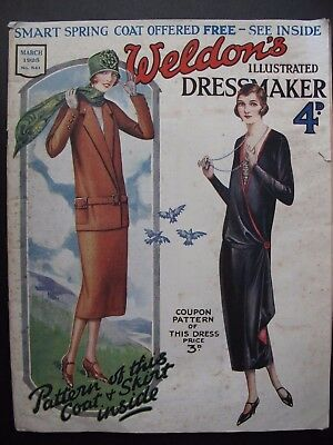 WELDON'S ILLUSTRATED DRESSMAKER No. 541, March 1925 - with patterns