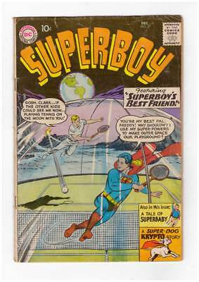 Superboy # 77  Superboy's Best Friend !   grade 3.5 scarce book !