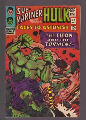 Tales to Astonish # 79  The Titan and the Torment !  grade 7.5 scarce book !
