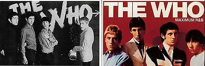 2 x The Who Postcards