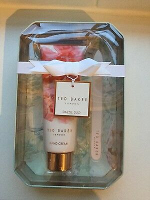Ted Baker Hand Cream & Glass Nail File Gift Set