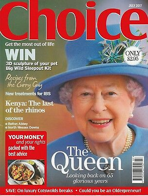 Choice Magazine - July 2017 - The Queen