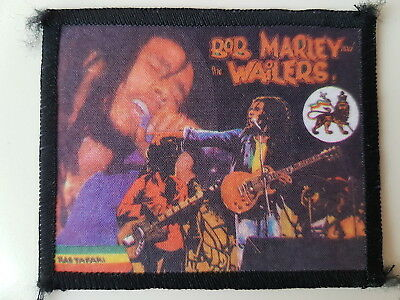 Bob Marley And The Wailers Vintage Printed Patch Reggae Ska