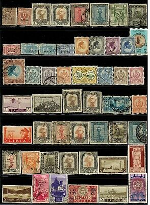 Lot of Libya Old Stamps Used/MH