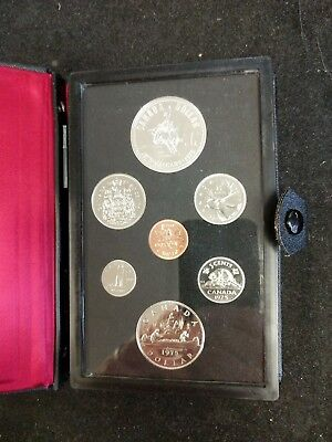 1975 Royal Canadian Calgary Double Dollar 7 Coin Mint Set