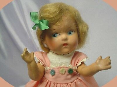 Vogue Strung Toddles 1943-44 Painted Eye Blonde DOLL PRECIOUS