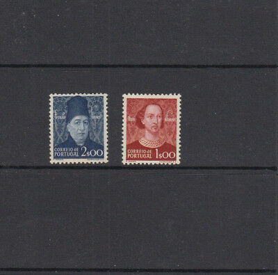 Two very nice old unused High Cat Value Portuguese Portrait issues