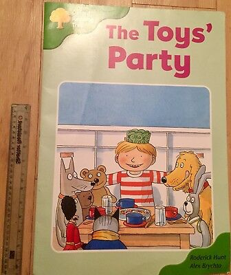 Oxford Reading Tree: Level 2: Stories: The Toys Party Large Print Big Book Huge