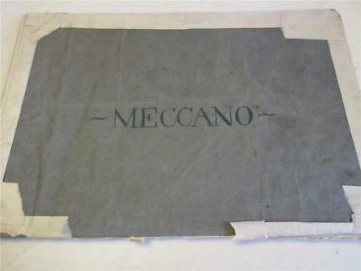 VERY EARLY ANTIQUE MECCANO BROCHURE, BOOK dated 1911 - 90 Models!