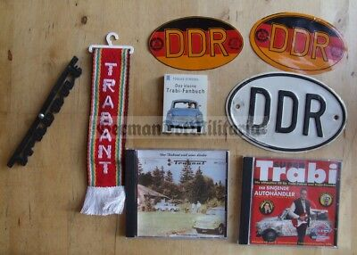 lc135) East German Trabant IFA Trabi car collector lot DDR GDR Berlin Wall