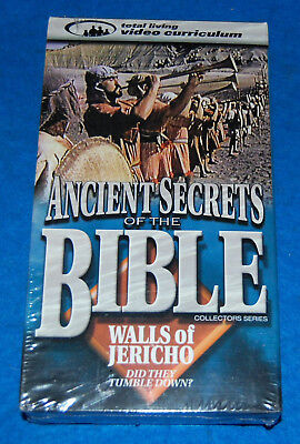 Ancient Secrets Of The Bible Walls Of Jericho VHS Tape, New & Factory Sealed
