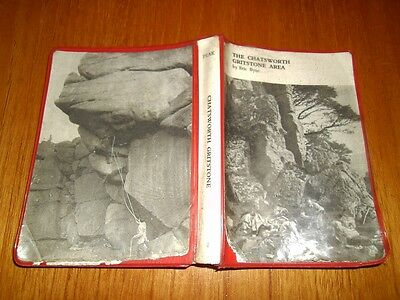 THE CHATSWORTH GRITSTONE AREA 'Rock Climbs in the Peak' 1970