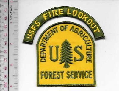 Fire Lookout USFS US Forest Service USFS  Fire Lookout Attendant