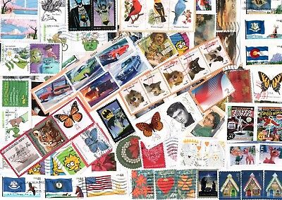 A New Mix Of Kiloware Commemorative Stamps From The Usa. All 37C Plus