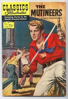Classics Illustrated #122 The Mutineers HRN 123 VG/FN   {50% OFF}