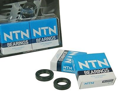 Crankshaft Bearing Oil Seals Set For PIAGGIO NTT Quartz Sfera Fog Taillight RST