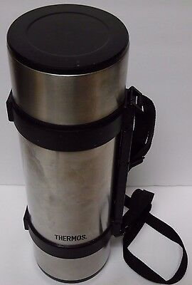 Thermos Nippon Sanso KK 64 oz Stainless 2 Liter Travel Hiking Camping Thermos