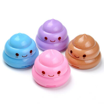 Cute Children Home Student Offices Double Hole Pencil Sharpener Emoji Stationery